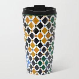 Alhambra Tiles Travel Mug