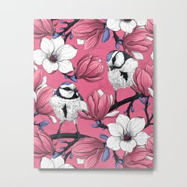 Spring time in pink Metal Print