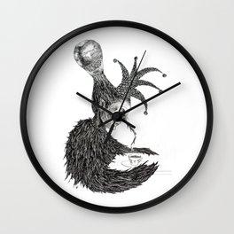 Thoughts Far Away Wall Clock