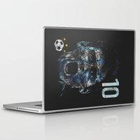 messi Laptop & iPad Skins featuring Messi by dan elijah g. fajardo