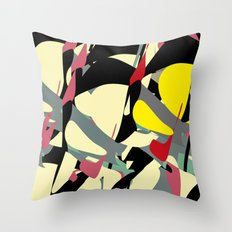 Copy and Paste II Throw Pillow