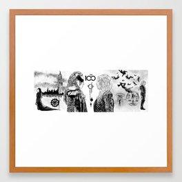 Clexa - The 100 Framed Art Print