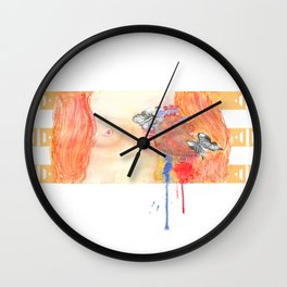 In the end, we will all be judged by the courage of our hearts. Wall Clock
