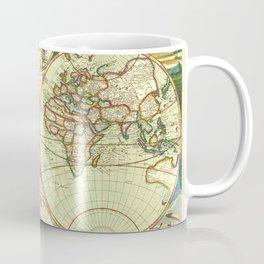 A new mapp of the world (1702) Coffee Mug