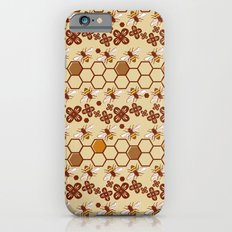 Honeycomb and Bees Slim Case iPhone 6s