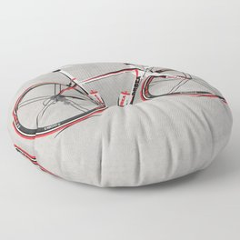 Race Bike Floor Pillow