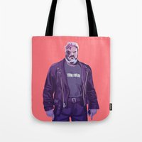 90s Tote Bags featuring 80/90s - Hdr by Mike Wrobel