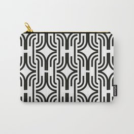 Partern black white popart Carry-All Pouch
