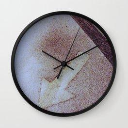 Look Backwards Wall Clock