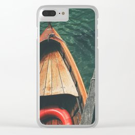 Next Stop: Adventure Clear iPhone Case