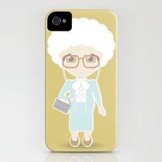 Girls in their Golden Years - Sophia iPhone (4, 4s) Slim Case