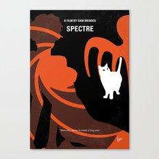 No277-007-2 My Spectre minimal movie poster Canvas Print