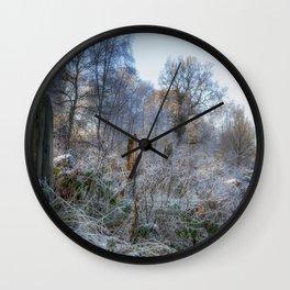Frosty Morn Wall Clock