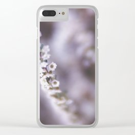 The Smallest White Flowers 02 Clear iPhone Case