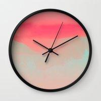 breathe Wall Clocks featuring BREATHE by RUEI