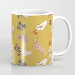 Hands in Art History Coffee Mug