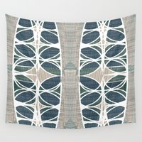scandinavian Wall Tapestries featuring Scandinavian retro by a.r.r.p.