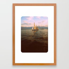 Wing on Wing Framed Art Print