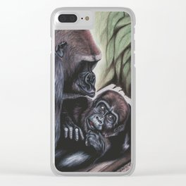 Sekani and Adelina Clear iPhone Case