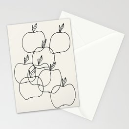 An Apple A Day By Fleur Adriana Stationery Cards
