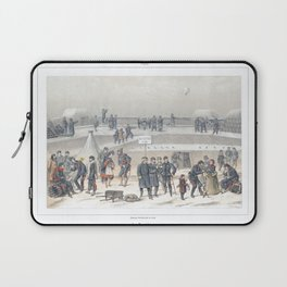Paris art print Paris Decor office decoration vintage decor SIEGE & BASTION of Paris Laptop Sleeve
