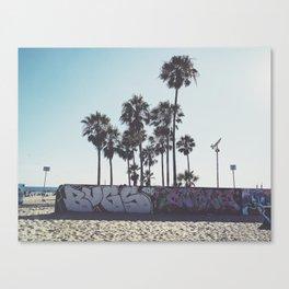 Palms x Walls Canvas Print