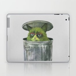 Grouchy Cat  Laptop & iPad Skin