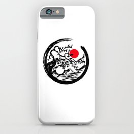 Japanese Tree Design T-Shirt iPhone Case