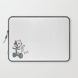 Cat for a walk Laptop Sleeve