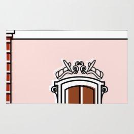 Palacio de Miraflores -Detail- Rug