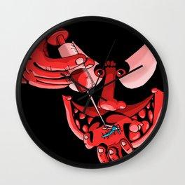 The world upside down (6) Wall Clock