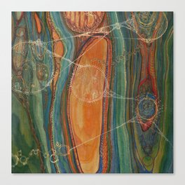 Lively Synapses (Amplified Current) Canvas Print
