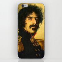 replaceface iPhone & iPod Skins featuring Frank Zappa - replaceface by replaceface