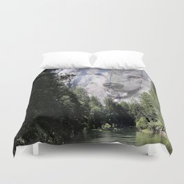 Wolf Mountain Duvet Cover