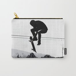 Flying High Skateboarder Carry-All Pouch