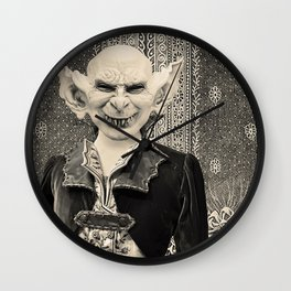 YOU SUCK THE LIFE OUT OF ME (or the psychic vampire) Wall Clock