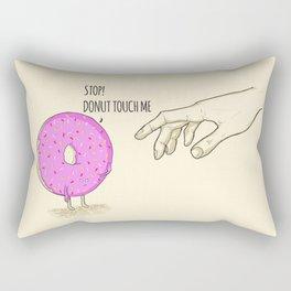 Donut Touch me Rectangular Pillow