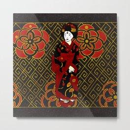 Kimono Metal Print