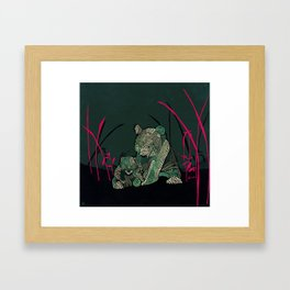 Little Emperors Framed Art Print