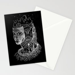 Secrets of Your Skull Stationery Cards