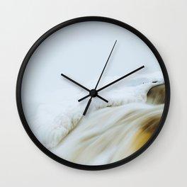 Muskrat Falls in Winter  Wall Clock