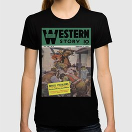Street & Smith's Western Story - February 1941 T-shirt