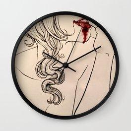 Kiss and Tell Wall Clock