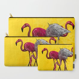 The Flamingo Gang Carry-All Pouch