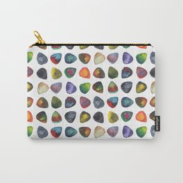 Guitar Picks Watercolor Carry-All Pouch