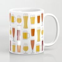 beer Mugs featuring Beer  by Cute to Boot
