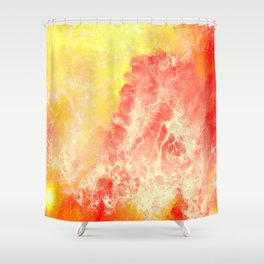 Lovers on the Sun Shower Curtain