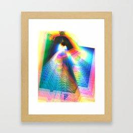 inner lights Framed Art Print