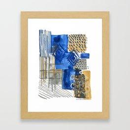Ginger Jars and Baskets Framed Art Print