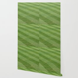 Play Ball! - Freshly Cut Grass - For Bar or Bedroom Wallpaper